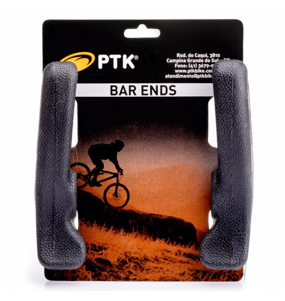 Bar End Emborrachado PTK