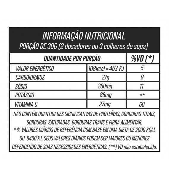 Energy Pro Pote 750g - Sudract Nutrition - Tangerina