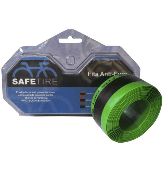 Fita Anti-Furo Safe Tire 35mm Verde 26/27.5/29 - MTB