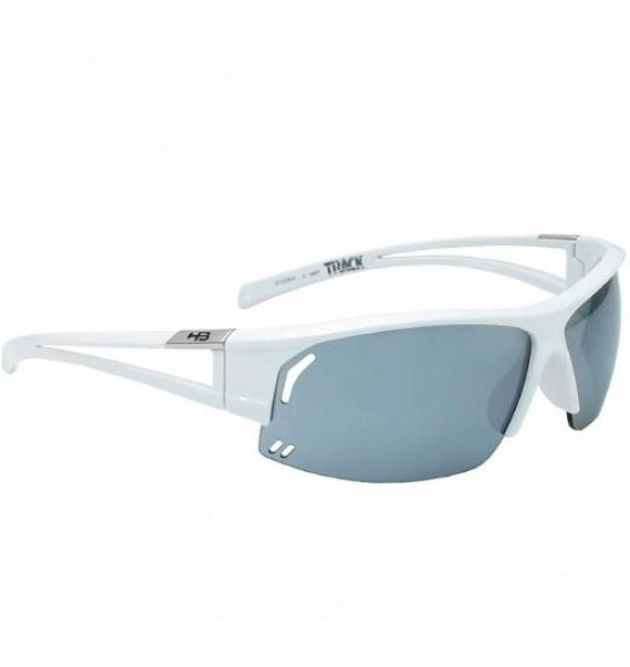 Oculos HB Track Pearled White Silver